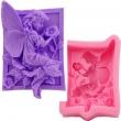 Silikónová forma na mydlo a sviečky -Víla