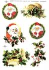 Ryžový papier 210x297mm- Santa Claus