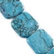 Minerálne kamene TYRKENIT, štvorec 20x20 mm-1ks