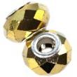 Vinutky s veľkým prievlakom 10x14 mm zlaté