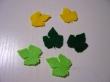 javorové listy- 6ks v balení