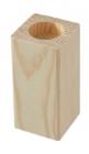 Drevený svietnik, 16cm