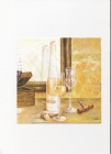 fľaša s vínom a poháre