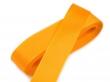 taftová stuha 25 mm - cena za 1 m-oranžová