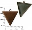 Lôžko na živicu- Trojuholník 28 mm/staromedený