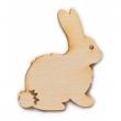 Drevené výrezy/ zajačik 8 cm