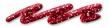 Glitter liner 28 ml- červený