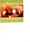 Vianočné gule a sviečky II