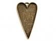 Lôžko na živicu,srdce 30x53 mm-medené
