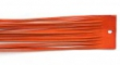 Kožený remienok-oranžový