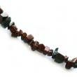 Minerálne kamene-úlomky Obsidiánu 4-9 mm