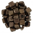 CZECH MATES TILE 6mm-10 g- Dark bronze
