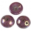 Piggi beads 4x8 mm- Luster violet-30 ks