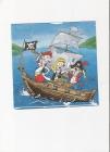 veselí piráti na lodi