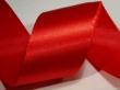 atlasová stuha 25 mm - cena za 1 m-červená