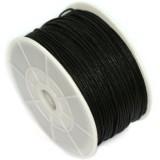 voskovaná niť 1.5 mm -cena za 1 m-čierna